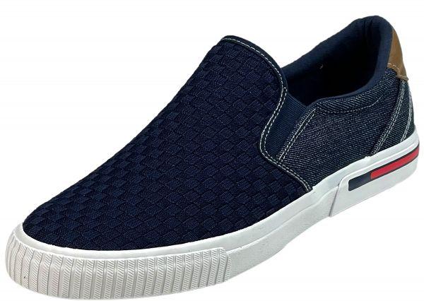 s.Oliver 5-14602-26 Herren Slipper/ Sneaker navy (blau)