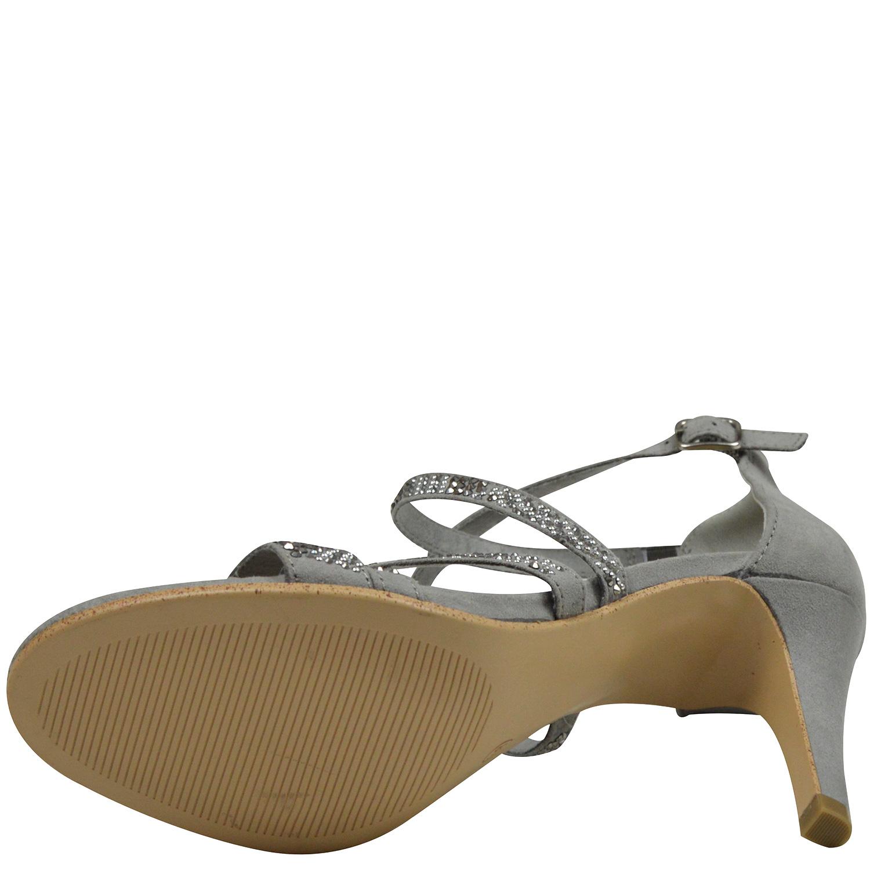 s.Oliver 5 28306 22 Damen Sandaletten high heel grau