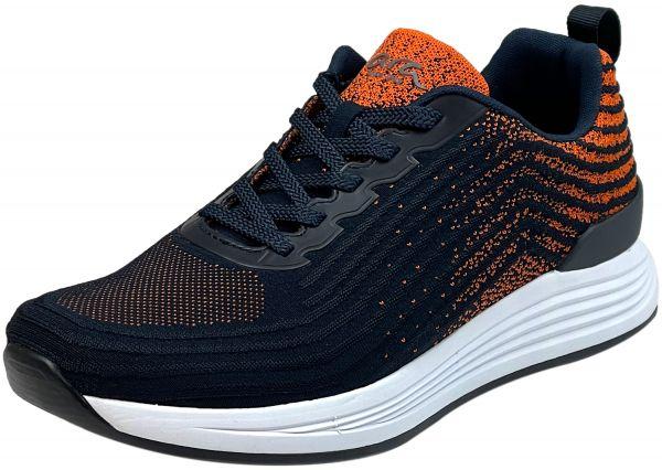 Ara Chicago 11-13601 Herren HighSoft Sneaker blau-orange