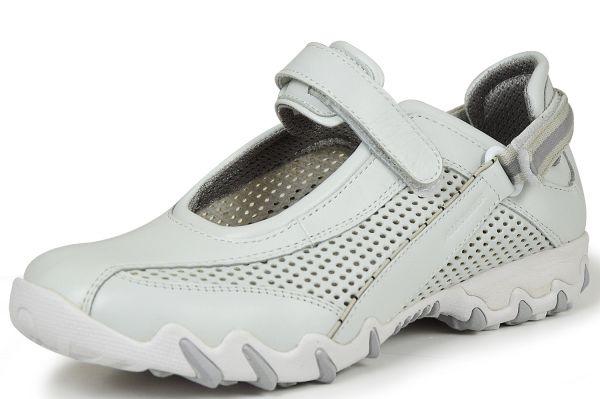 Mephisto Allrounder Nimbo Damen Sneaker, Halbschuhe, Wechselfußbett weiß