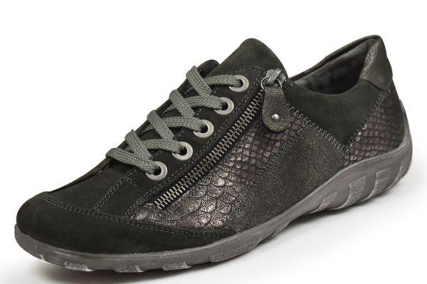 Remonte R3419-42 Damen Sneaker grau kombi