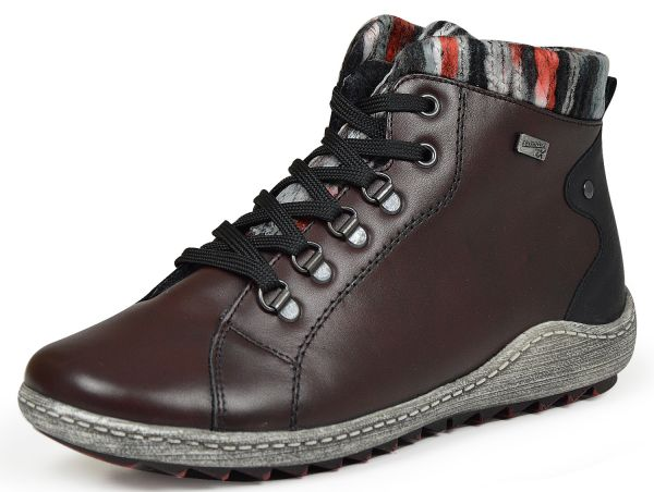 Remonte R1473-35 Damen high top Sneakers rot kombi