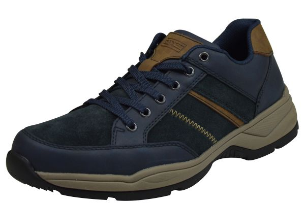 Rieker B4403 Herren Sneaker blau