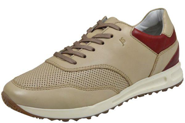 Josef Seibel Thaddeus 10 Herren Sneaker beige ( sand-kombi )