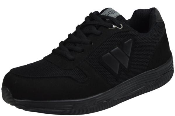 Wellbe Sydney winterblack waterproof unisex Sneaker schwarz
