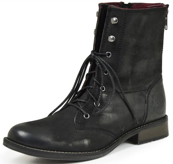 Marco Tozzi 25112 Damen Combat Boots Kaltfutter, schwarz
