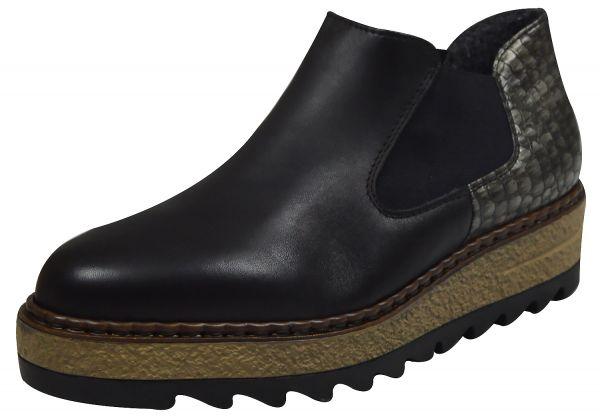 Rieker 55890-00 Damen Chelsea Boots