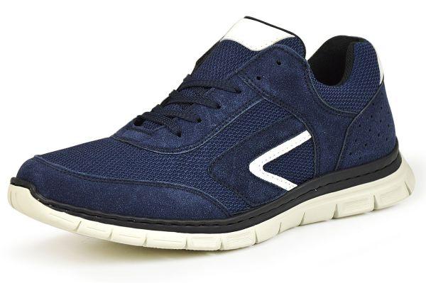 Rieker Antistress B4805-15 Herren Sneaker Memosoft blau