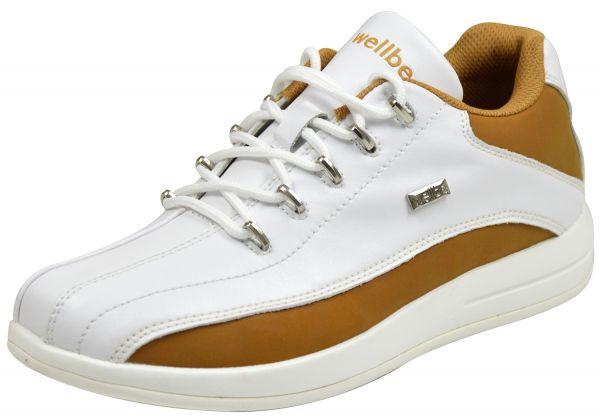 Wellbe Dallas Herren Sneaker weiß beige