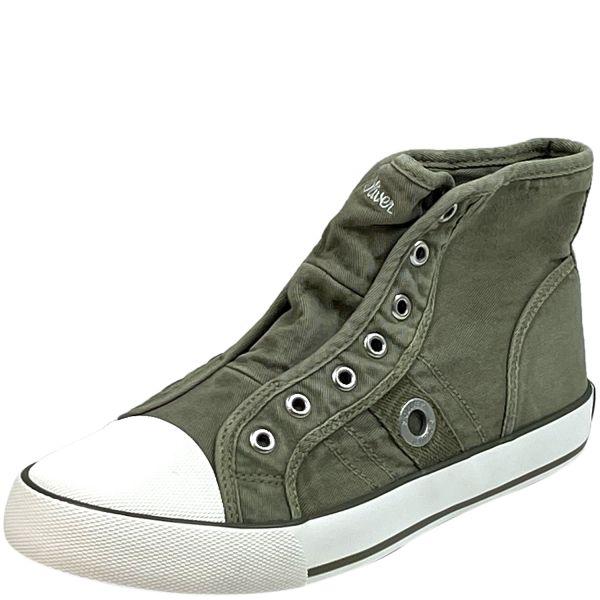 s.Oliver 5-25235-36 Damen Sneaker lt green ( oliv )