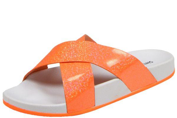 Siebi`s Solta Damen Dusch- und Bade Pantoletten orange