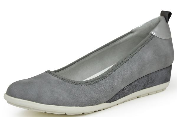 s.Oliver 5-22302-28 Damen Pumps Soft Foam grau (graphite)