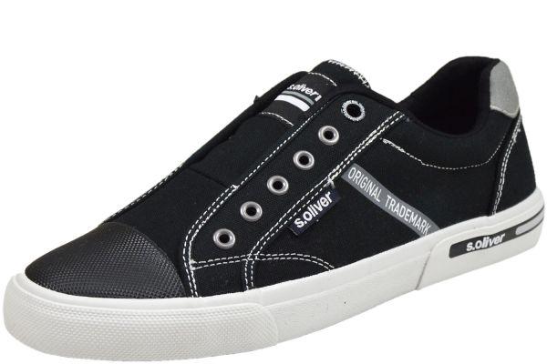 s.Oliver 5-14603-24 Herren Sneaker schwarz