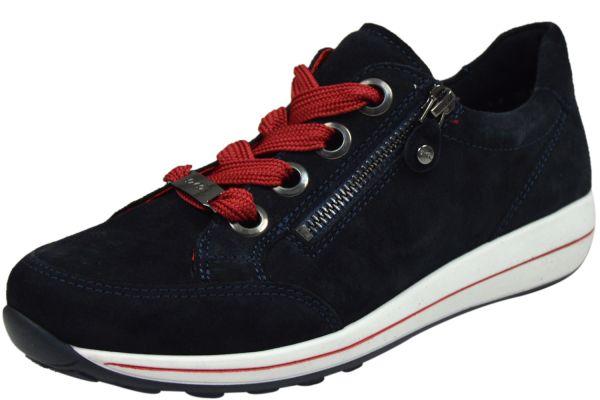 Ara Osaka-Highsoft 12-34587 Damen Schnürschuhe blau