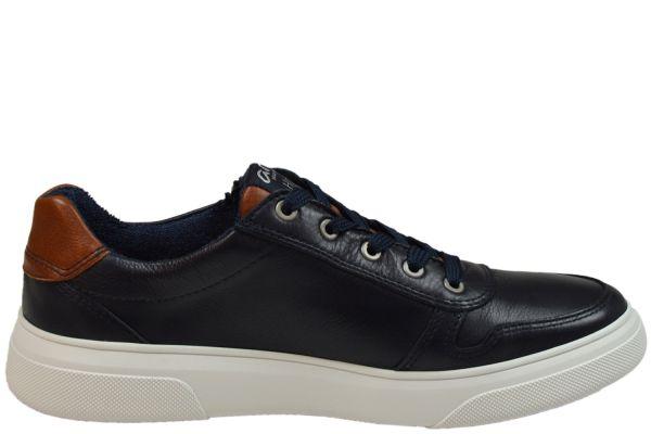 Ara Naldo High Soft Herren Sneaker blau, cognac