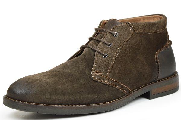 Longo Herren Desert Boots caffe (dunkelbraun)