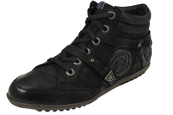 MARC 1.686.20-39 Helen Damen Sneaker Wechselfußbett schwarz