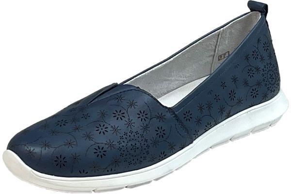 Remonte R7105-14 Lite`n Soft Damen Slipper blau