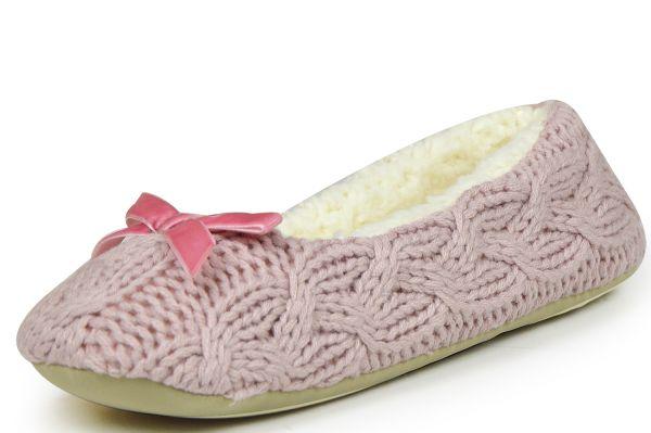 Linea Scarpa Zell Damen Hausschuhe pink