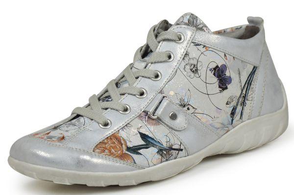 Remonte R3476-90 Damen Sneaker Wechselfußbett silber ice