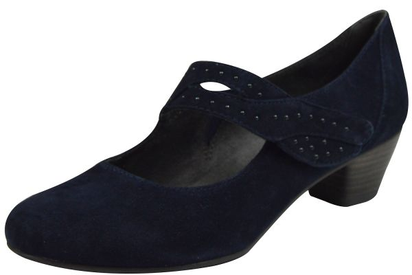 Jana 24303 Damen Pumps blau ( navy )