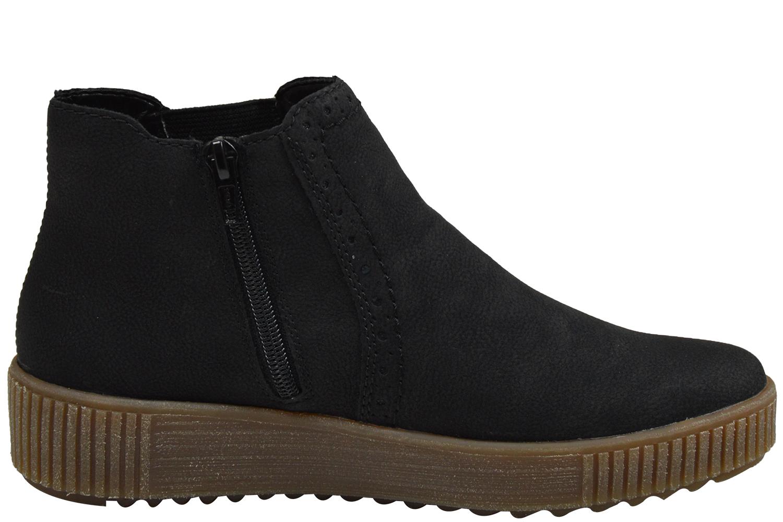 Rieker Y6463 01 Damen Chelsea Boots schwarz