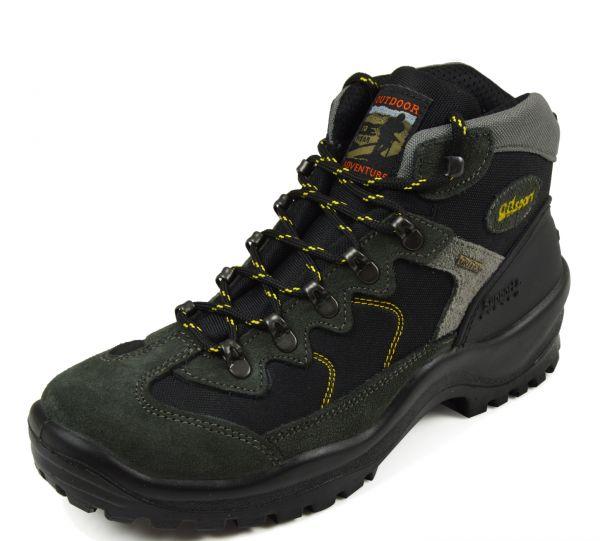 Grisport 10694 Outdoor Trekking- und Wanderstiefel, Wechselfußbett, Tex Membrane, Grigio (anthrazit
