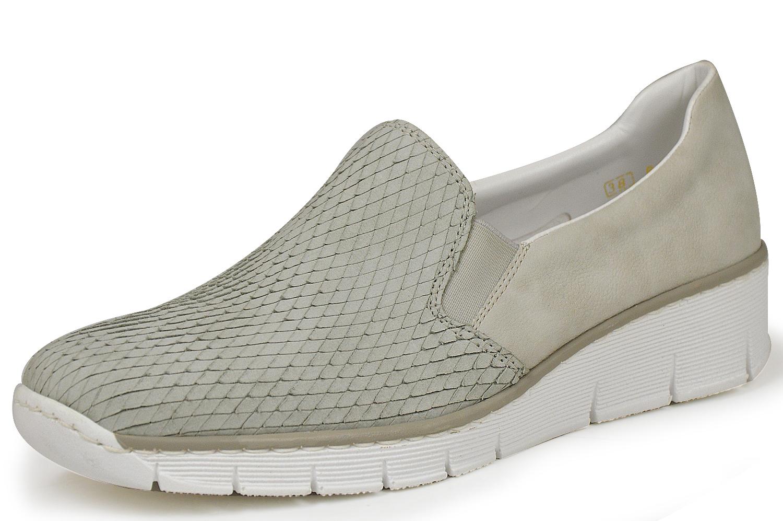 rieker antistress 537600 60 damen slipper beige. Black Bedroom Furniture Sets. Home Design Ideas