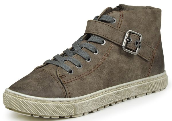 Jana 8-25262-27 Damen High Top Sneaker taupe