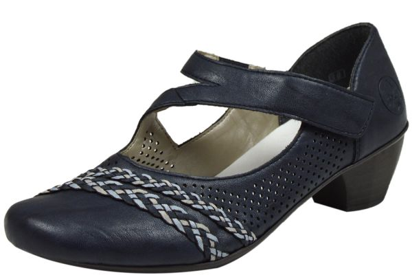Rieker 41794-14 Damen Pumps blau