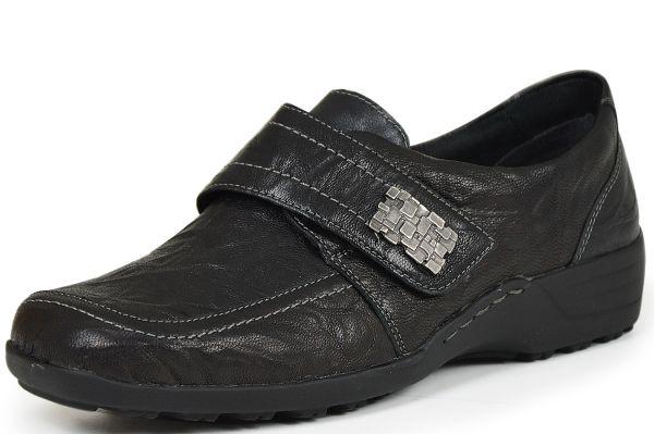 Remonte D0527-00 Damen Halbschuhe Wechselfußbett schwarz