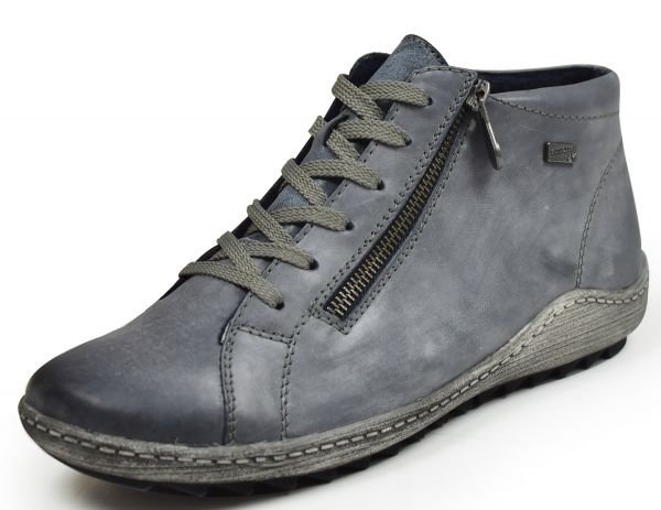 Remonte R1470 -14 Damen High top Sneaker Wechselfußbett blau