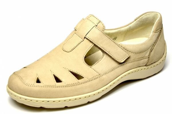 Waldläufer Henni 496510 Damen Slipper beige