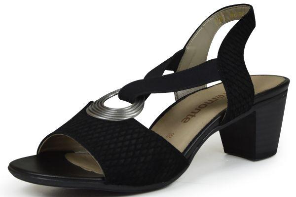 Remonte R9257 Damen Sandalen schwarz