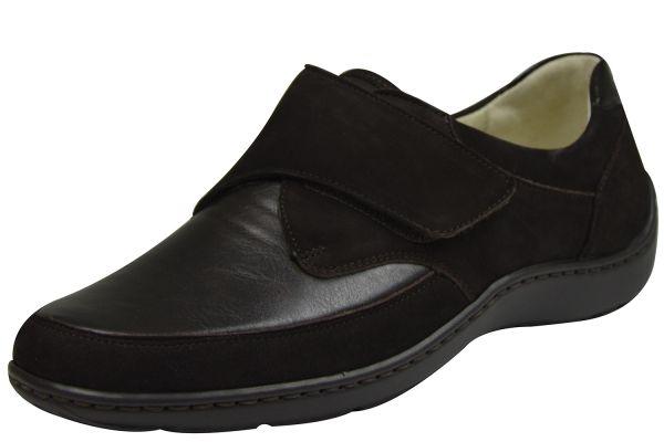 Waldläufer Henni Soft Damen Schuhe Ortho Tritt braun
