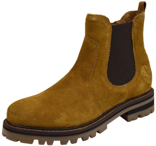 s.Oliver 5-25450-25 Damen Chelsea Boots cognac (braun)