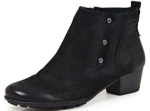 Marco Tozzi 2-25001-25 Damen Stiefeletten black antik (schwarz )