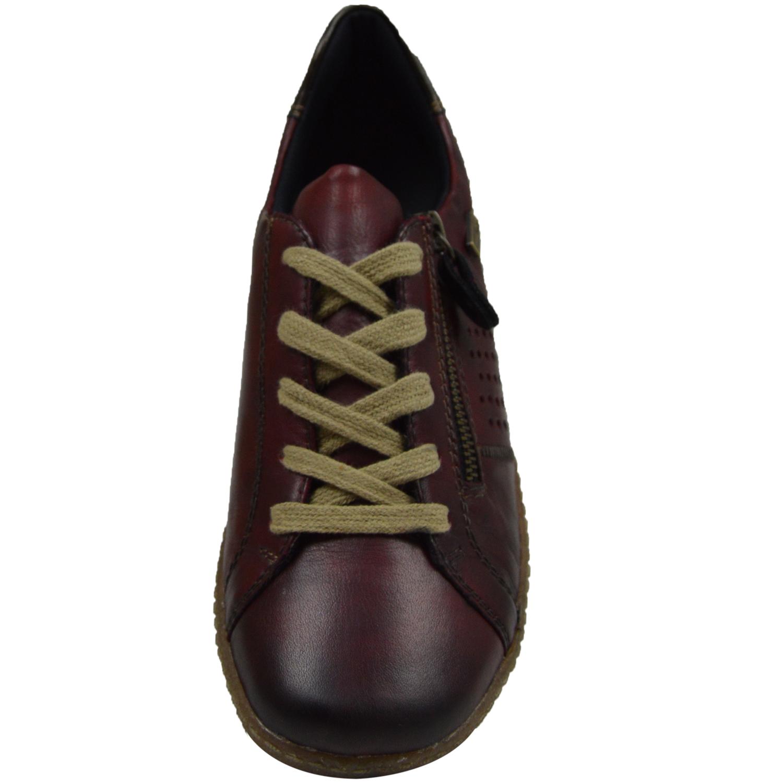 Remonte Damen Schuhe Sneaker Damenschuhe Leder Rot R1400-35