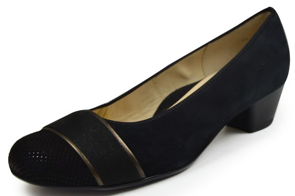 ara Messina 12-43637 Damen Pumps Weite H schwarz