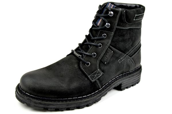 MARC Paul 1.237.03-97 Herren Combat Boots, Gore Tex, schwarz