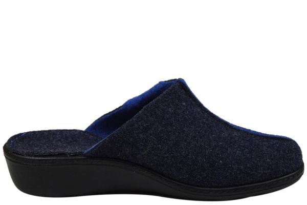 Romika Romilastic 384 Damen Pantoffeln blau