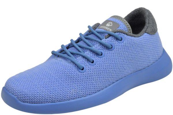 Giesswein 72/10/49309 519 Damen Sneaker Merino Wool Knit himmelblau