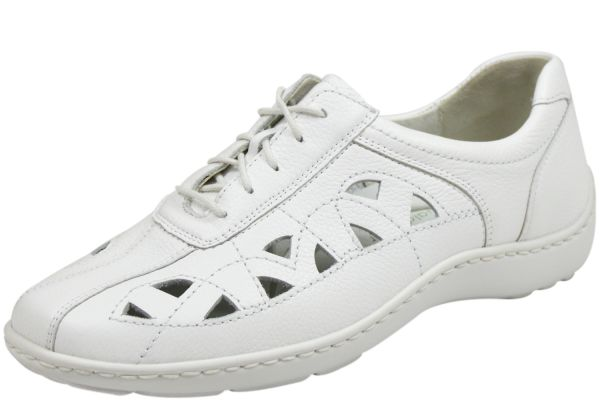 Waldläufer Henni 4960003 172 150 Pro Aktiv Damen Schnürschuhe weiß