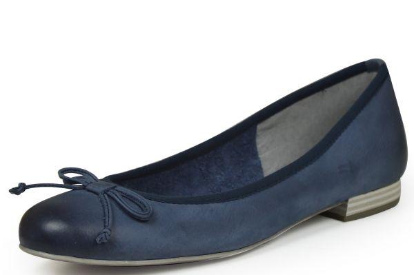 Marco Tozzi 2-22111-28 Damen Ballerina blau (navy)