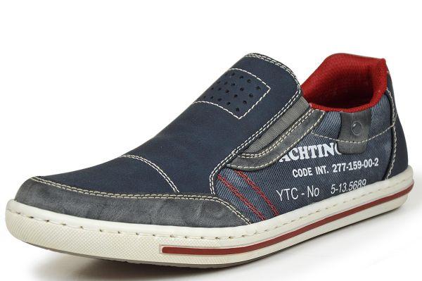 Rieker 19051-46 Herren Sneaker blau kombi