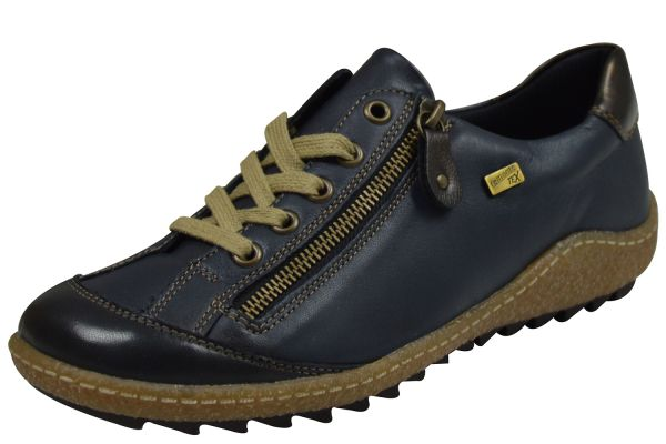 Remonte Tex R4703-14 Damen Sneaker blau kombi