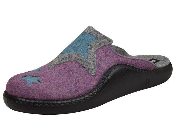 Romika Mokasso 142 Damen Pantoffeln viola multi