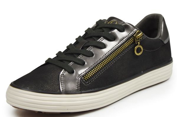 s.Oliver 23611 Damen Sneaker braun / metal.