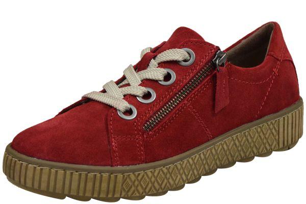 Jana 8-23700-23 Damen Sneaker rot ( chilli )