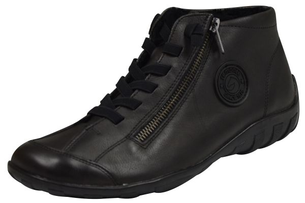 Remonte R3491 Damen High Top Sneaker grau